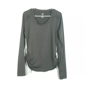 REI Womens Large Top Outdoor Hiking Stretch